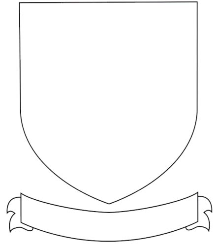 Printable Coat Of Arms Template Vastuuonminun Coat Of Arms Project Template