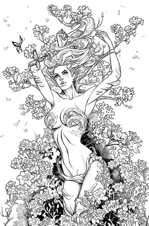 coloring pages advanced fantasy 267 best fantasy lady coloring pages images on pinterest