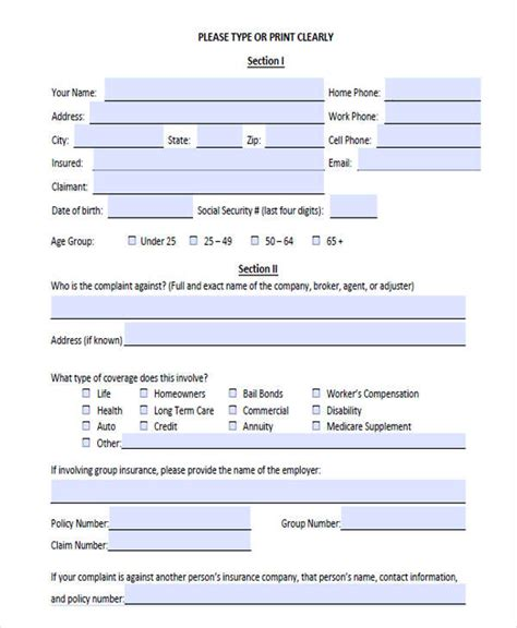 response form template complaint letters in pdf free premium templates