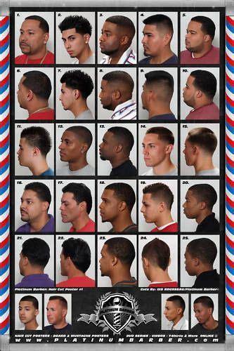 Black Men Hairstyles Chart   FADESinCUts   Hair cuts