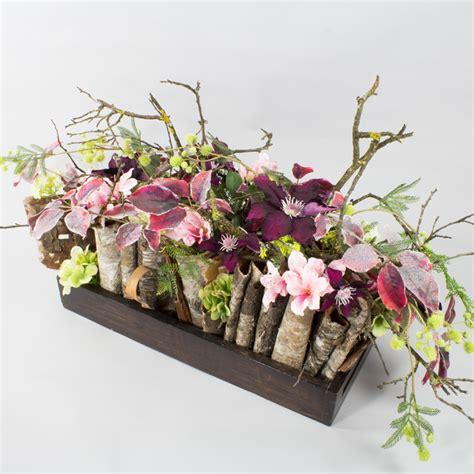 gestecke herbst herbst dekoration blumen gestecke silkflowers