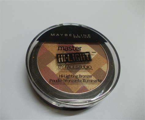 maybelline master hi light light bronze maybelline face studio master hi light in deep bronze review