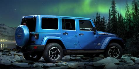 Limited Edition Jeep Wrangler Jeep Wrangler Polar Limited Edition Revealed Ahead Of