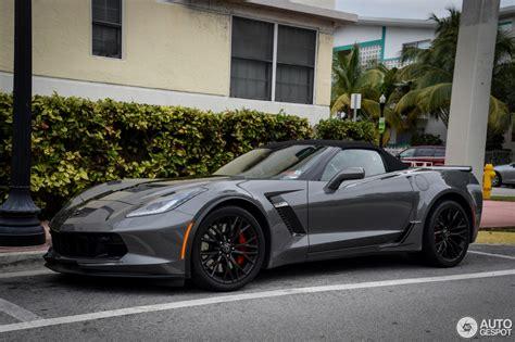 2016 C7 Corvette by Chevrolet Corvette C7 Z06 Convertible 21 February 2016
