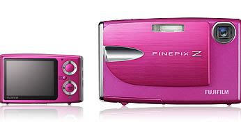 Fujifilm Finepix Z5m Ultracompact Digicam In Pink by Fujifilm Finepix Z20fd Digital Chagne Pink