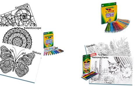 coloring books for adults crayola crayola color escapes coloring kits crayola