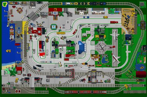 lego layout software lego city update summer 2014 the layout design flickr