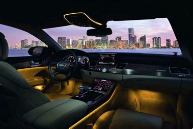 leds lend ambience to automotive interior lighting | digikey