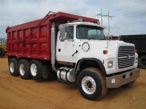 ford l9000 dump truck for sale 1997 ford l9000 tri axle dump