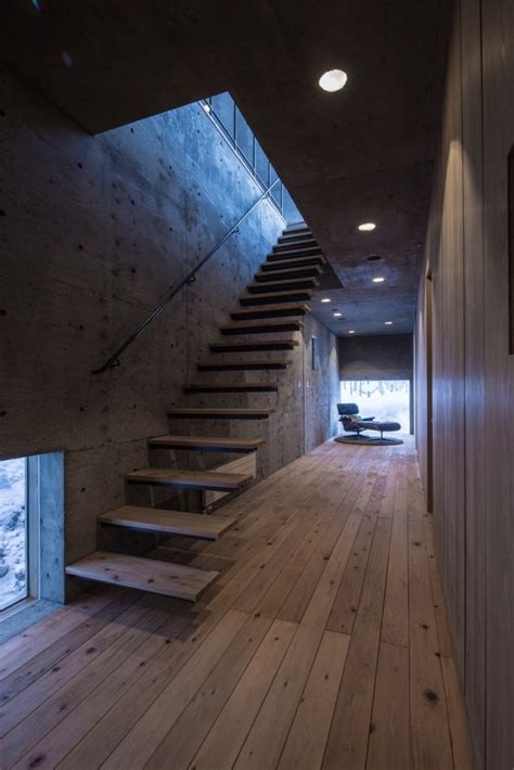 Stretched Ceilings by L House In Niseko Japan By Florian Busch Architects Homeli