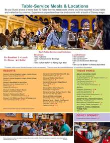 Backyard Cafe Menu 2017 Disney Dining Plan Quick Service Dining Plan And