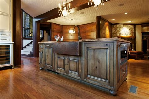 rustic country kitchen cabinets photo page hgtv