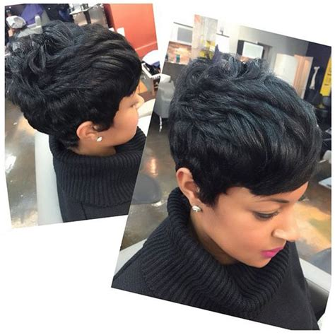 Pixie Haircut For Kinky Hair – Pixie Kinky Curly Short Natural Black Synthetic Hair For