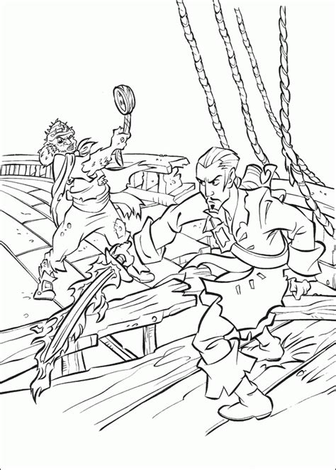 pirates of the caribbean coloring pages coloringpagesabc com