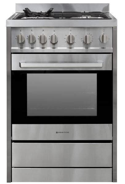 Oven Gas Kiwi parmco 60cm complete gas freestanding oven stainless