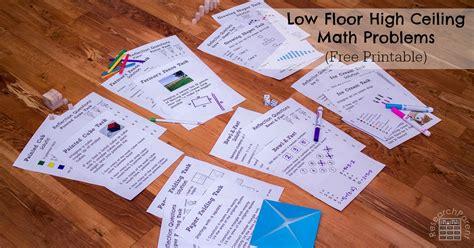 floor high ceiling math problems researchparentcom