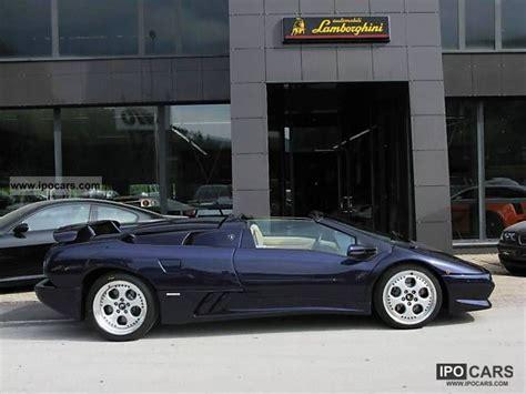 Lamborghini Diablo Sv Specs 1998 Lamborghini Diablo Sv Roadster Car Photo And Specs