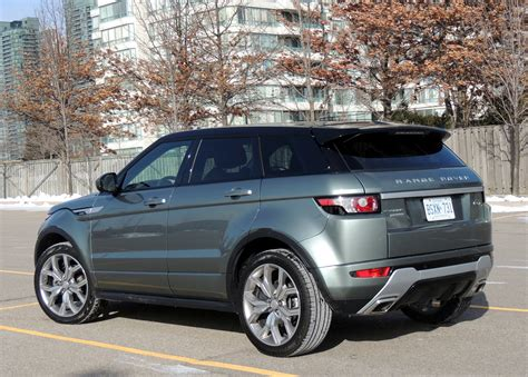 range rover evoque back 2015 range rover evoque review wheels ca