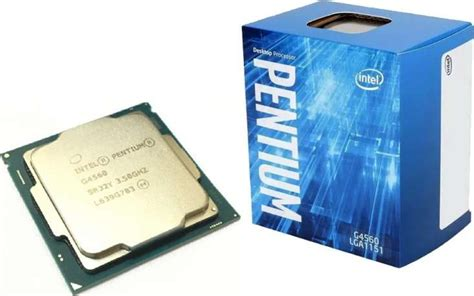 Intel Pentium G4560 3 5 Ghz intel pentium g4560 kaby lake dual 3 5ghz lga 1151