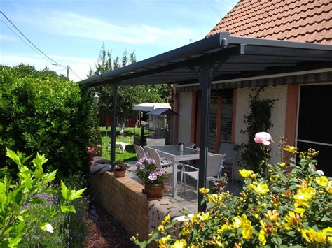 pergola terrazzo copertura terrazzo su pergola in alluminio 3 05x5 57m x metal