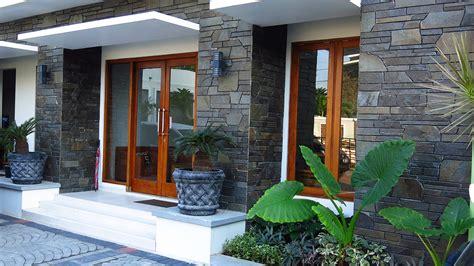 Desain Dapur Pakai Batu Alam | gambar rumah minimalis pakai batu alam dan 15 gambar model
