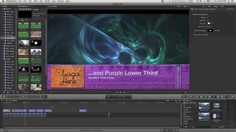 Final Cut Pro X Fcpx Title Denim Casual Lt Lower Third Tutorial Youtube Cut Pro Lower Thirds Templates Free