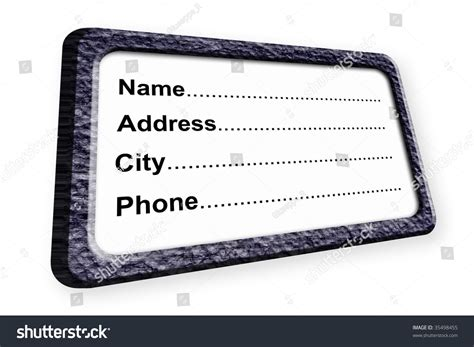 Search Address By Name And City Name Address City And Phone Information Illustration 35498455