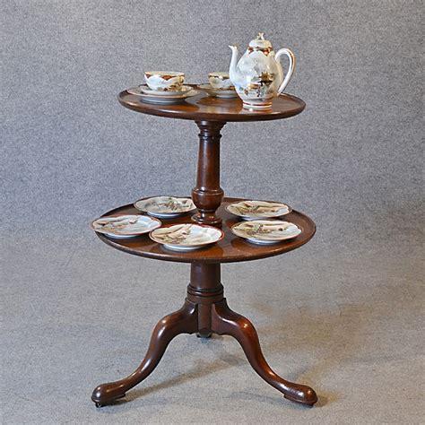 antique dumb waiter l tea table server display buffet