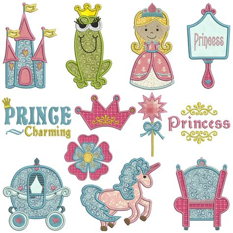 embroidery machine applique princess machine applique embroidery patterns 12
