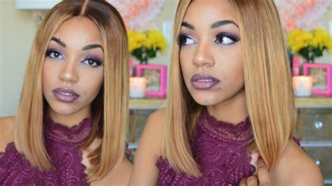 tutorial ombre rambut tanpa bleaching blonde blunt bob wig tutorial how to bleach bundles