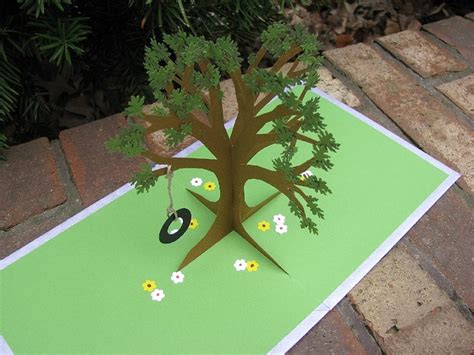 how to make a tree pop up card 425 best images about cards pop up fold out on