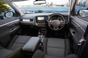 Mitsubishi Outlander Interior Pictures Mitsubishi Cars News 2016 Outlander On Sale Now From