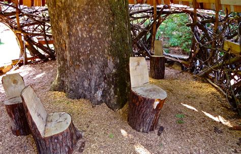 tree stump bench ideas tree stump ideas for furniture and decorating