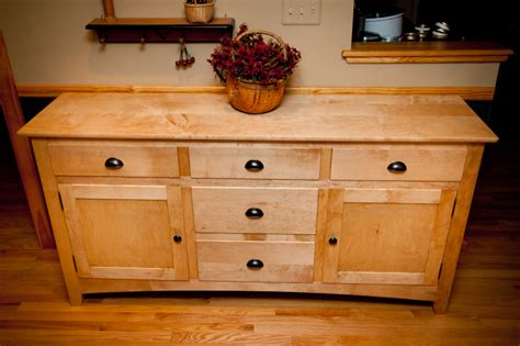 Mennonite Kitchen Cabinets maple shaker style sideboard pinandscroll com