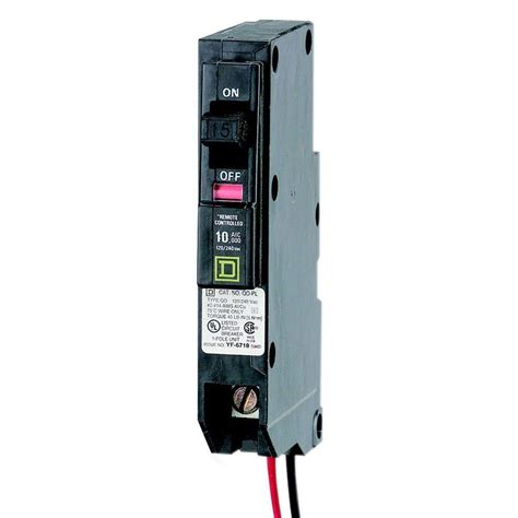 integrated circuit breaker power square d qo 15 0 7 in single pole ilc power link circuit breaker qo115plilc the home depot
