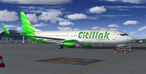 citilink supergreen boeing 737 800 citilink supergreen fictional skyxreborn