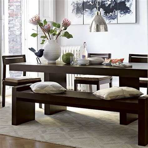 west elm dining bench terra dining table west elm
