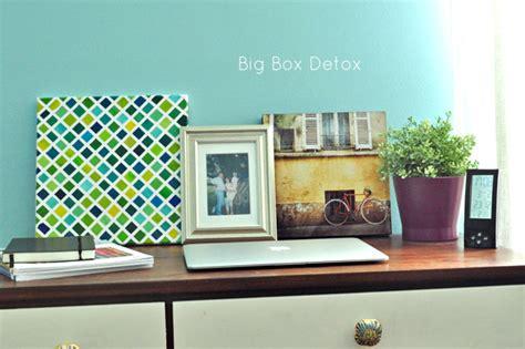 Detox Living Grid by Diy Grid Painting