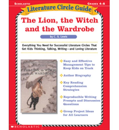 themes of the lion the witch and the wardrobe product literature circle guide the lion the witch and the wardrobe