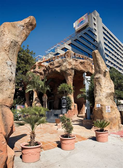 Magic Rock Garden Magic Aqua Rock Gardens Benidorm Purple Travel