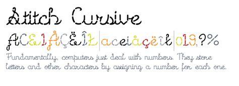 card stitch all cursive letters template stitch cursive fonts