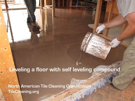 Self Leveling Floor Compound by How To Level A Floor With A Self Leveling Compound