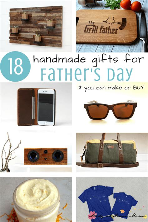 Handmade Fathers Day Gifts - 18 handmade s day gifts study at home
