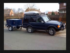 land rover discovery 2 4x4 with custom trailer expeditiion