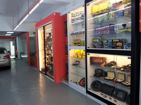 shop accessories new opening auto accessories concept store in ara damansara