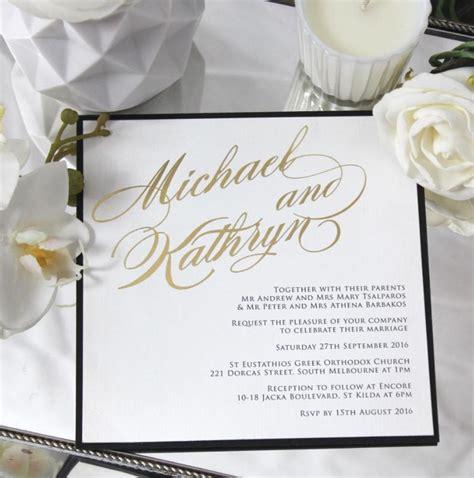 easy wedding invitations australia 8 simply wedding invitations
