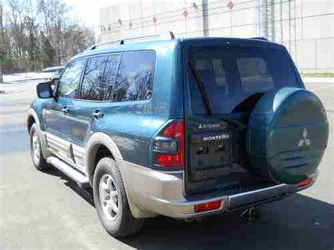 purchase used 2002 mitsubishi montero limited suv 4 door 3