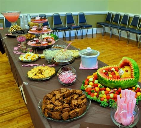 food at a baby shower baby shower food ideas image1
