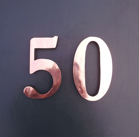 design house numbers uk traditional copper block 3d house numbers 6 150 mm in