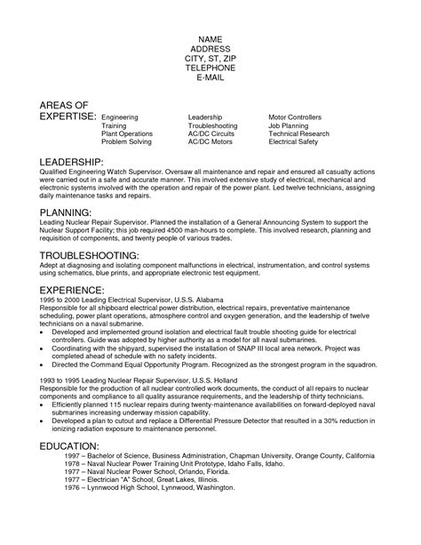 resume for electrician resume electrician resume sle anne